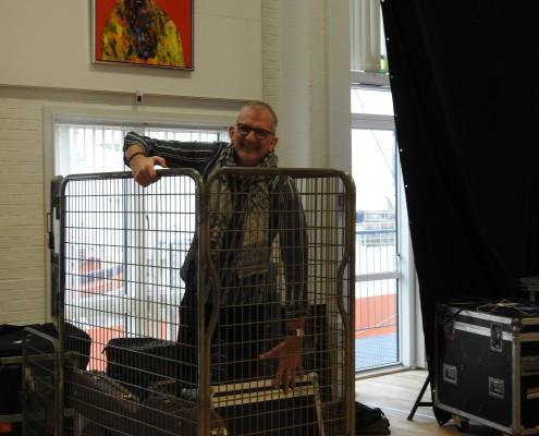 Johnny Madsen maleri og musik Johnny Madsen kunst guitar citater galleri atelier fanø Johnny Madsen band Knud Møller Henrik From
