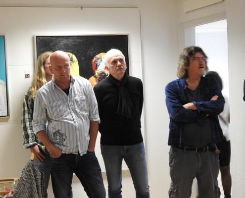 Hans Schmidt Andersen Johnny Madsen maleri og musik Johnny Madsen kunst guitar citater galleri atelier fanø Johnny Madsen band Knud Møller Henrik From