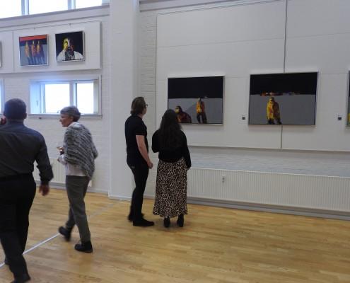 Johnny Madsen maleri og musik Johnny Madsen kunst guitar citater galleri atelier fanø Johnny Madsen band
