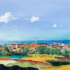 Nyt maleri af Steen Karlsen over Knud Størups udsigt fra sit hus i Hirtshals. Musikken i videoen er lavet af Ib Grønbech. Maleriet er også blevet lavet i tryk på lærred Navn